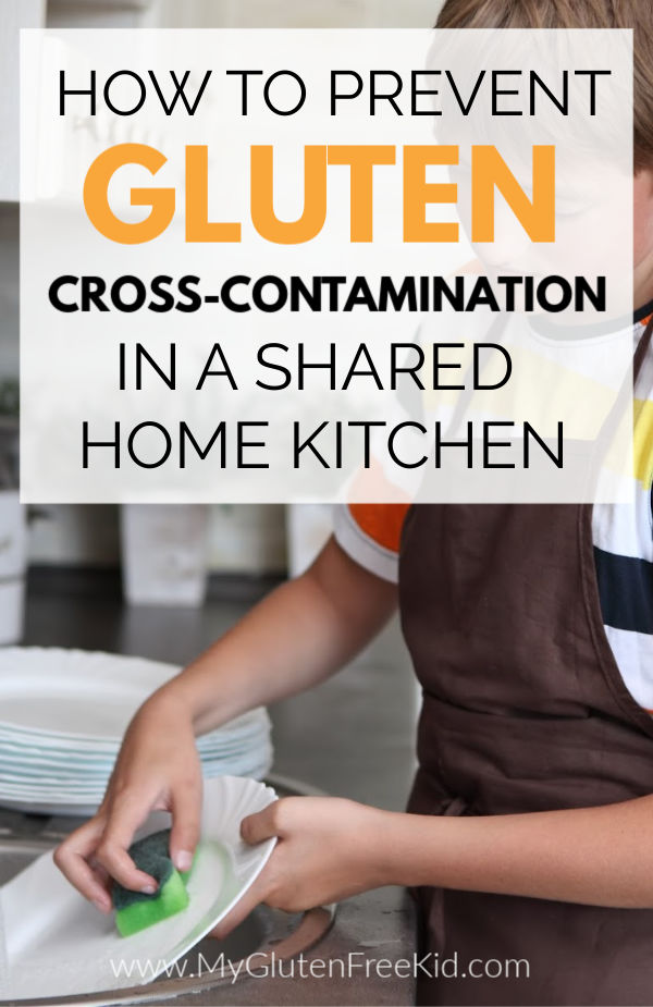Tips to prevent gluten cross contact at home